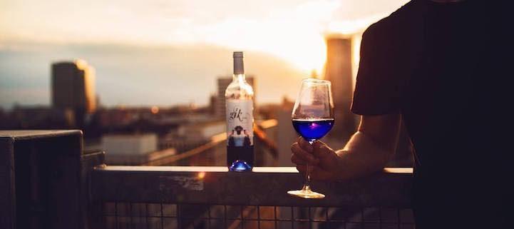 vino blu